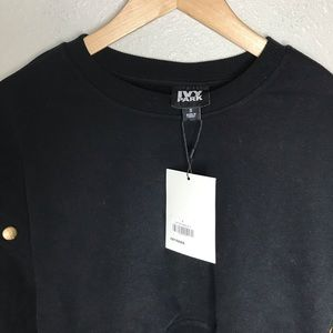 IVY PARK Tops - IVY PARK Armour Poppers Crop Sweatshirt NWT